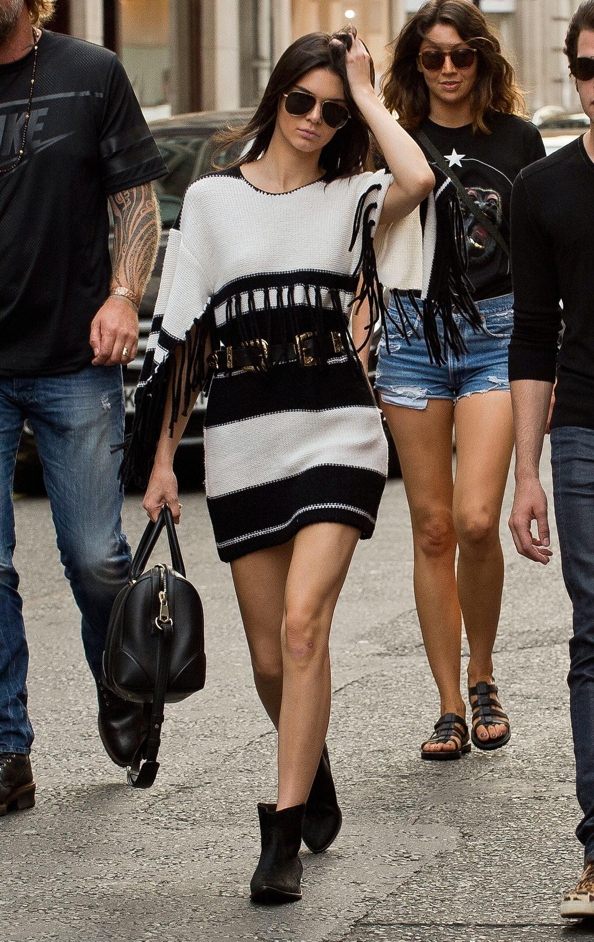 Kendall Jenner in Isabel Marant