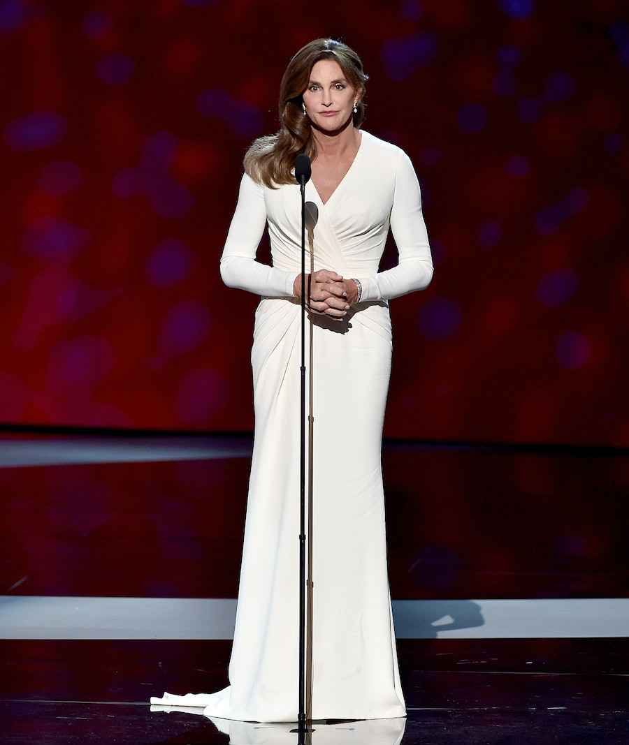 Caitlyn Jenner in Atelier Versace