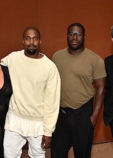 Kim Kardashian, Kayne West, Steve McQueen