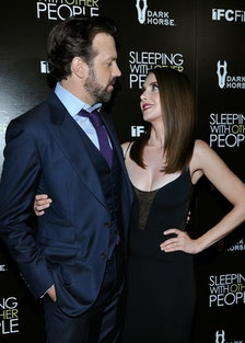 Jason Sudeikis and Alison Brie
