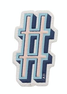 Anya Hindmarch Hash Tag sticker