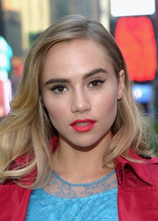 Suki Waterhouse Celebrates The Launch Of Burberry Make-up At Sephora Times Square