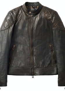 David Beckham x Belstaff leather jacket