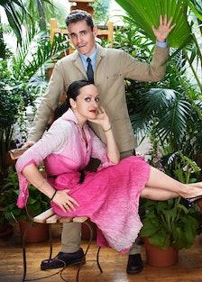 Isabel and Ruben Toledo