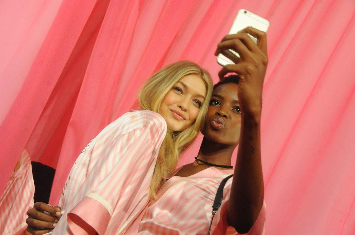 Gigi Hadid and Maria Borges