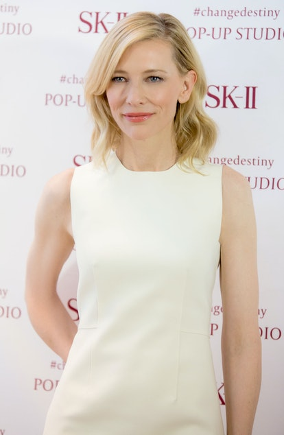 Cate Blanchett at the SK-II Pop-Up
