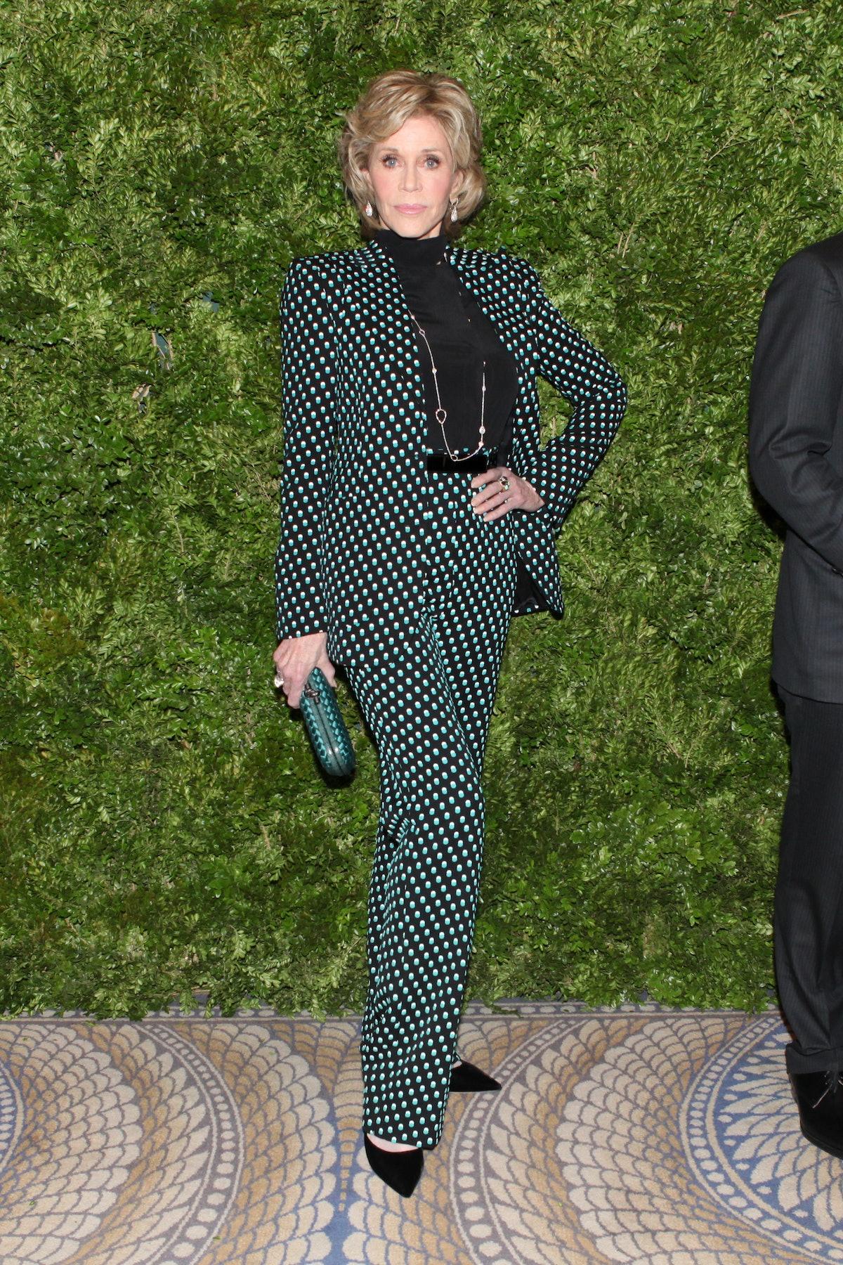 Jane Fonda in Bottega Veneta