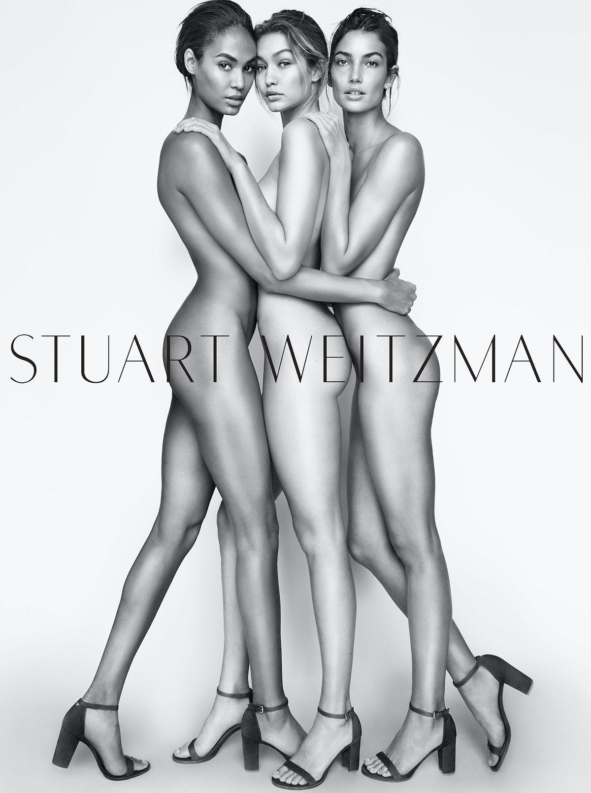 Stuart Weitzman Spring 2016 campaign