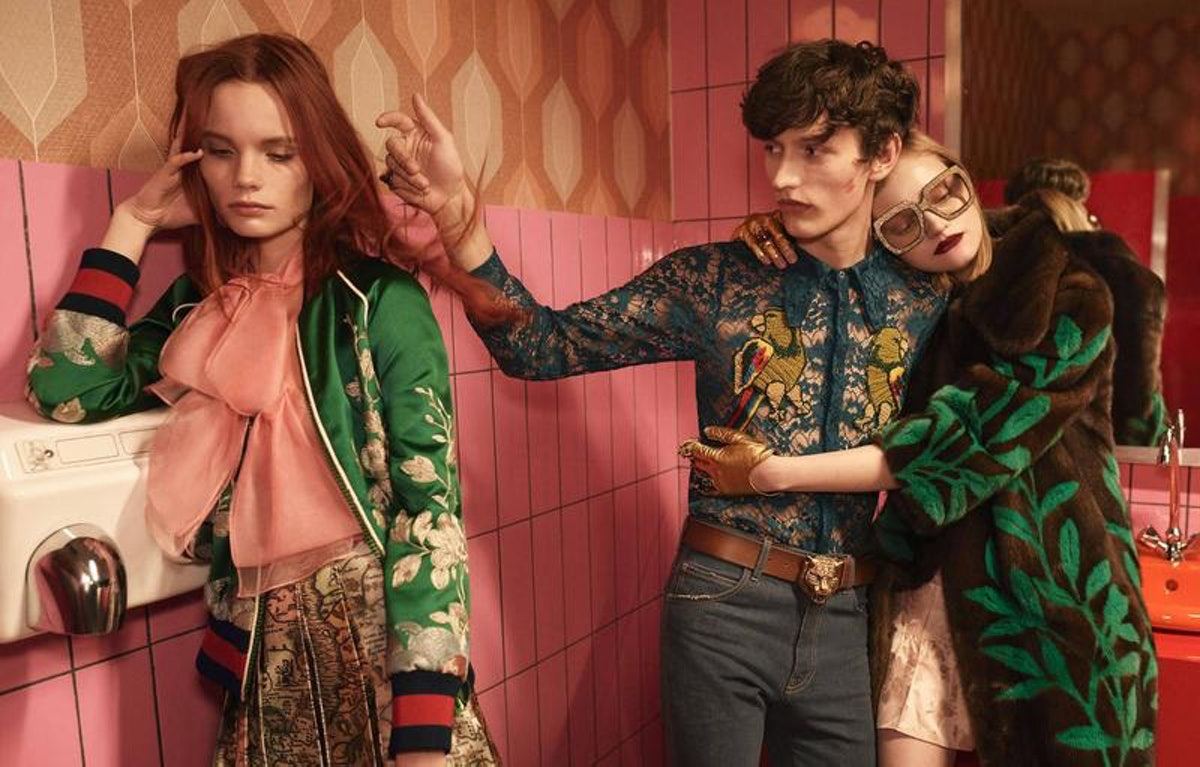 Photo by Glen Luchford for Gucci