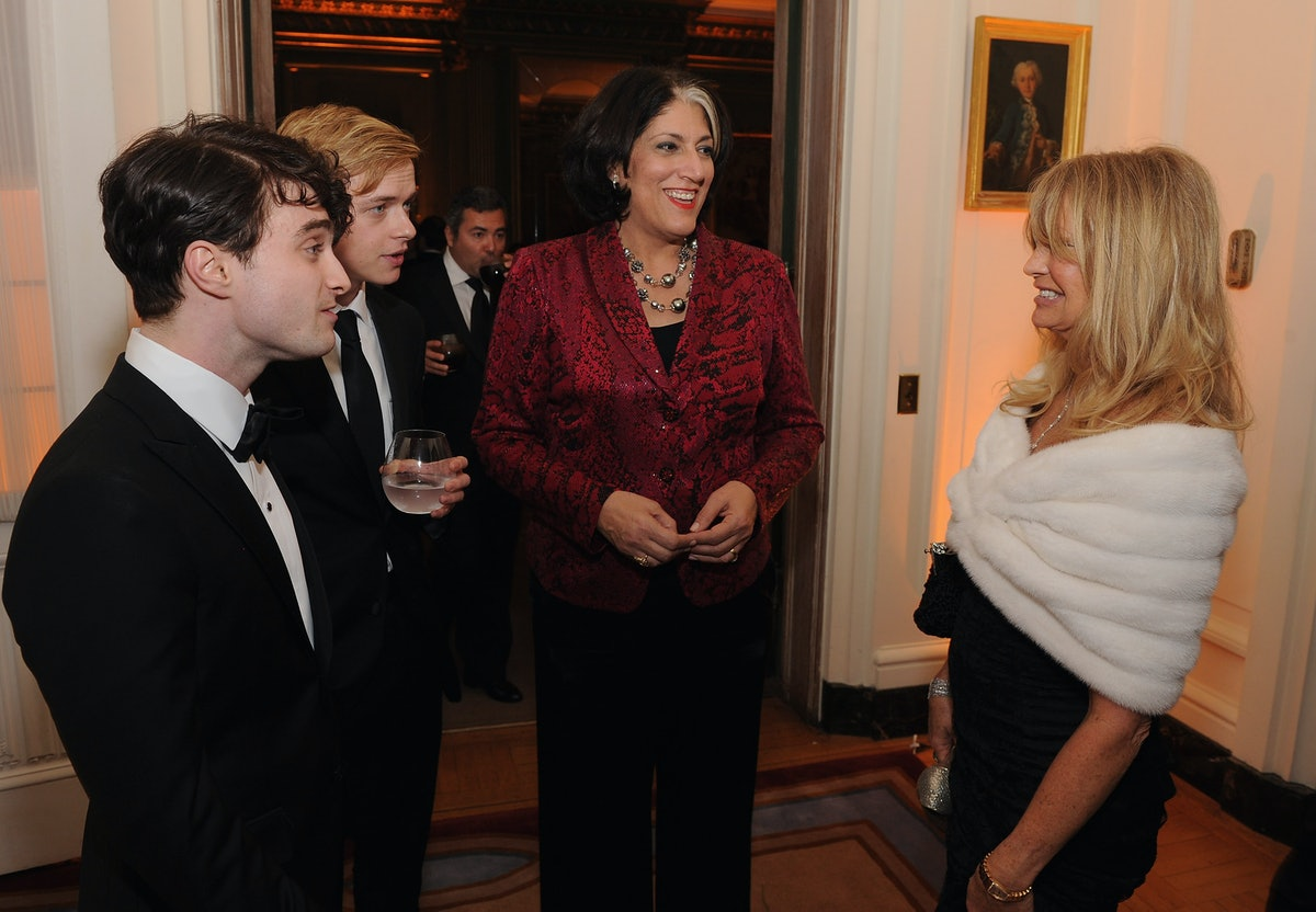 Bloomberg & Vanity Fair Cocktail Reception Following The 2012 White House Correspondents' Associatio...