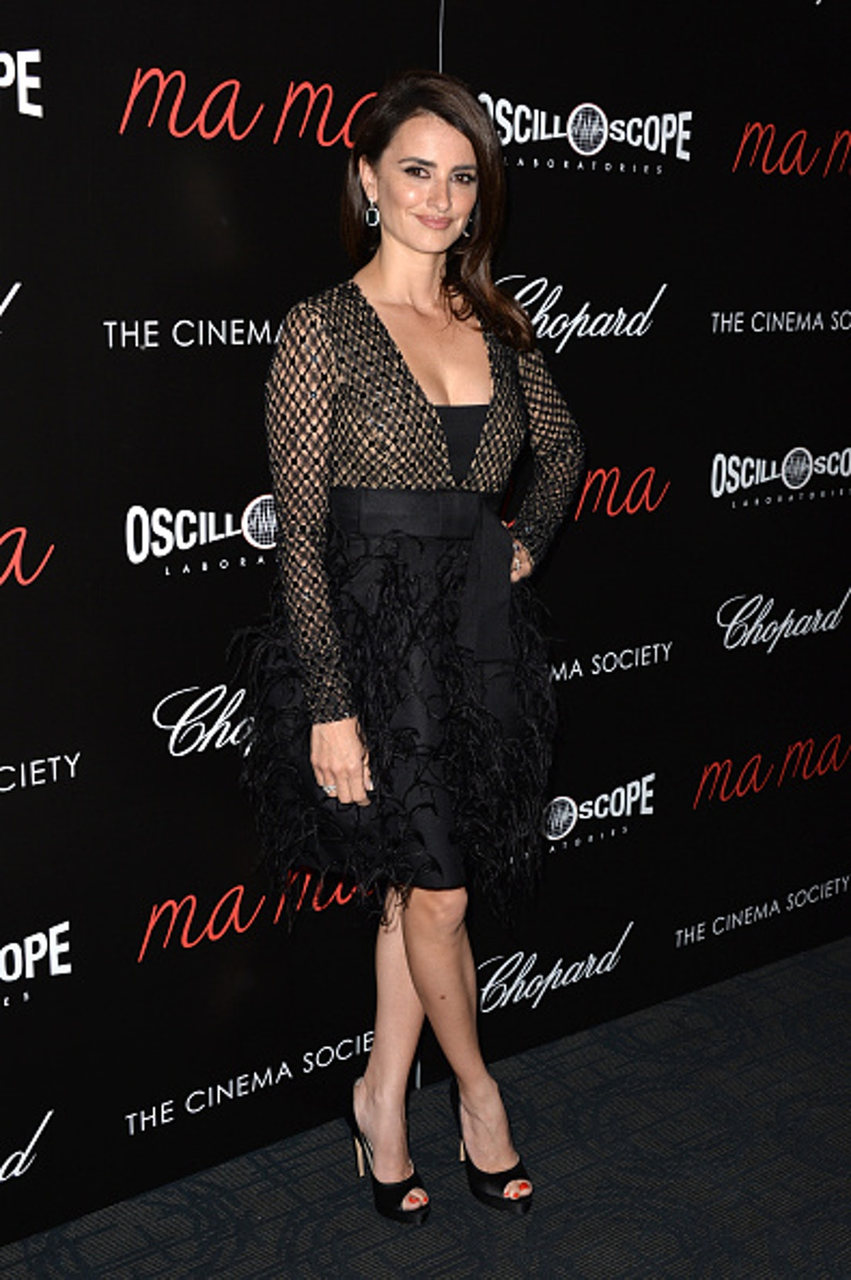 "The Cinema Society And Chopard Host A Screening Of Oscilloscope's ""ma ma"" - Arrivals"
