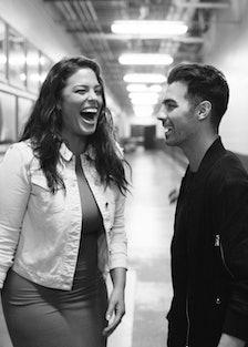Joe Jonas and Ashley Graham