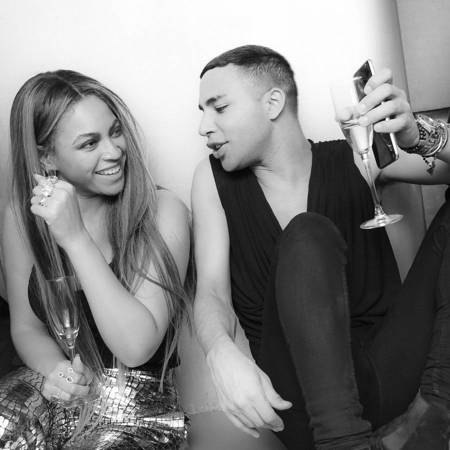 Balmain & Olivier Rousteing: Celebrate after the Met Gala