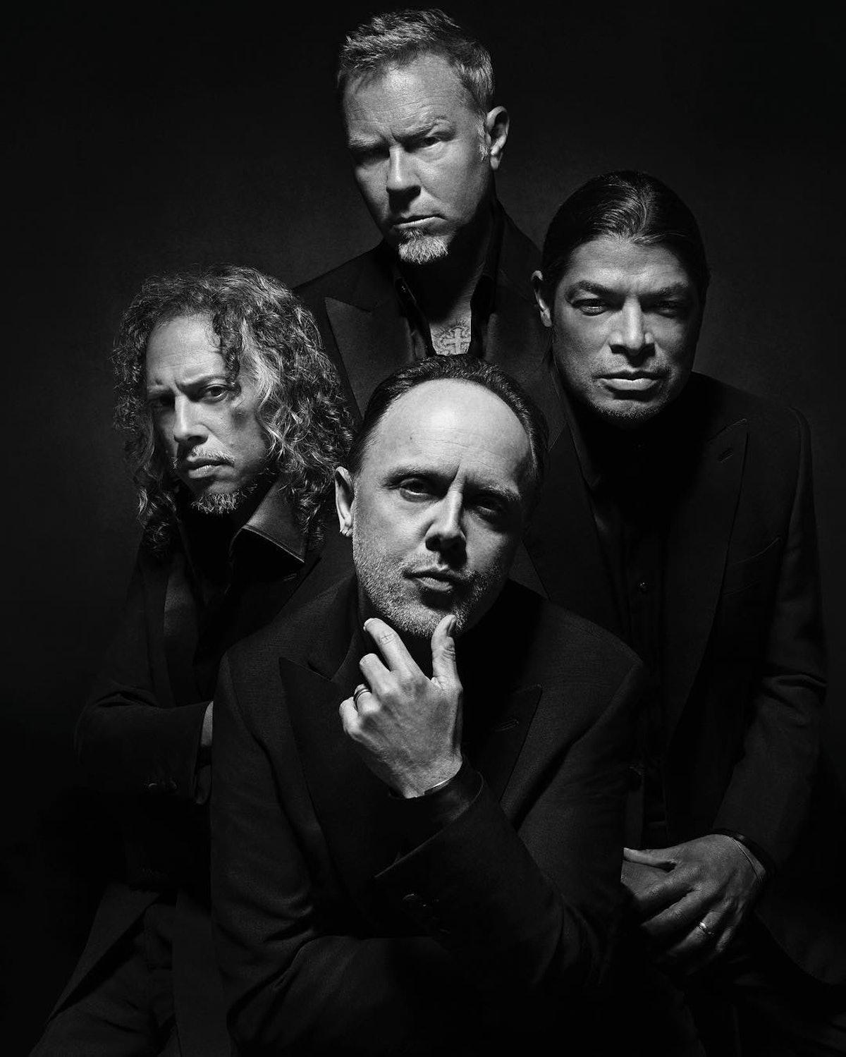 Metallica for Brioni