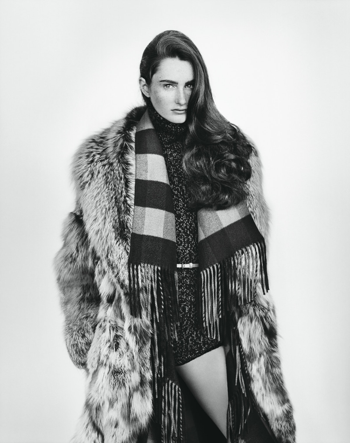 Natural Selection. Photo by Alasdair McLellan, styled by Edward Enninful. W Magazine, August 2012_2....
