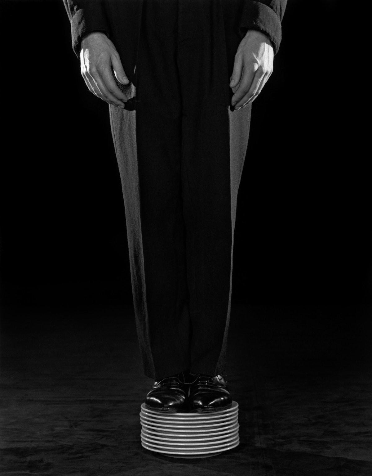 Robert Mapplethorpe, Shoes on Plates, 1984.jpg