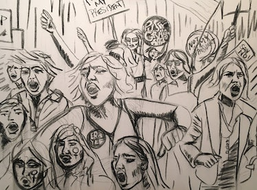 **INDIRA CESARINE - PROTEST 2016 (Work In Progress) - THE UNTITLED SPACE - UPRISE _ ANGRY WOMEN EXHI...