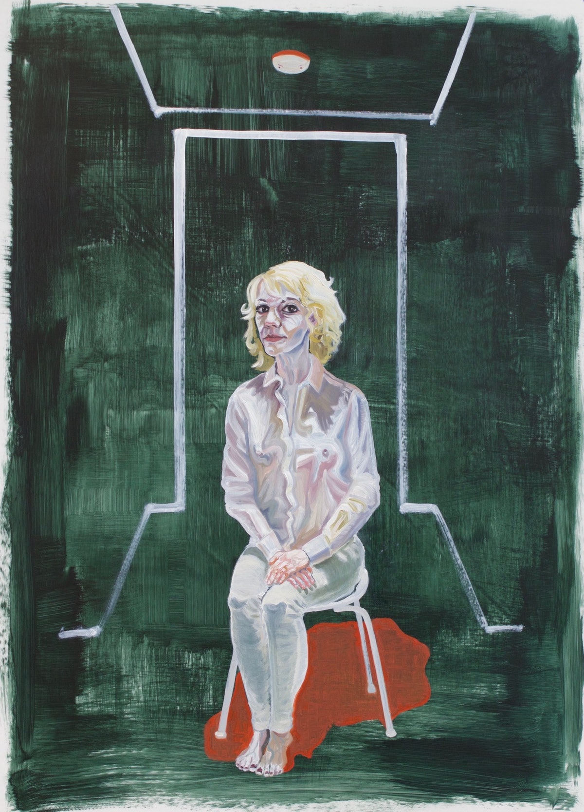 **Patty Horing - Self Portrait as a White Woman - THE UNTITLED SPACE - UPRISE _ ANGRY WOMEN EXHIBIT.jpg