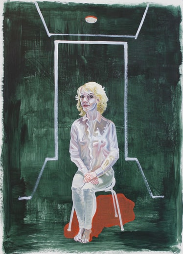 **Patty Horing - Self Portrait as a White Woman - THE UNTITLED SPACE - UPRISE _ ANGRY WOMEN EXHIBIT....