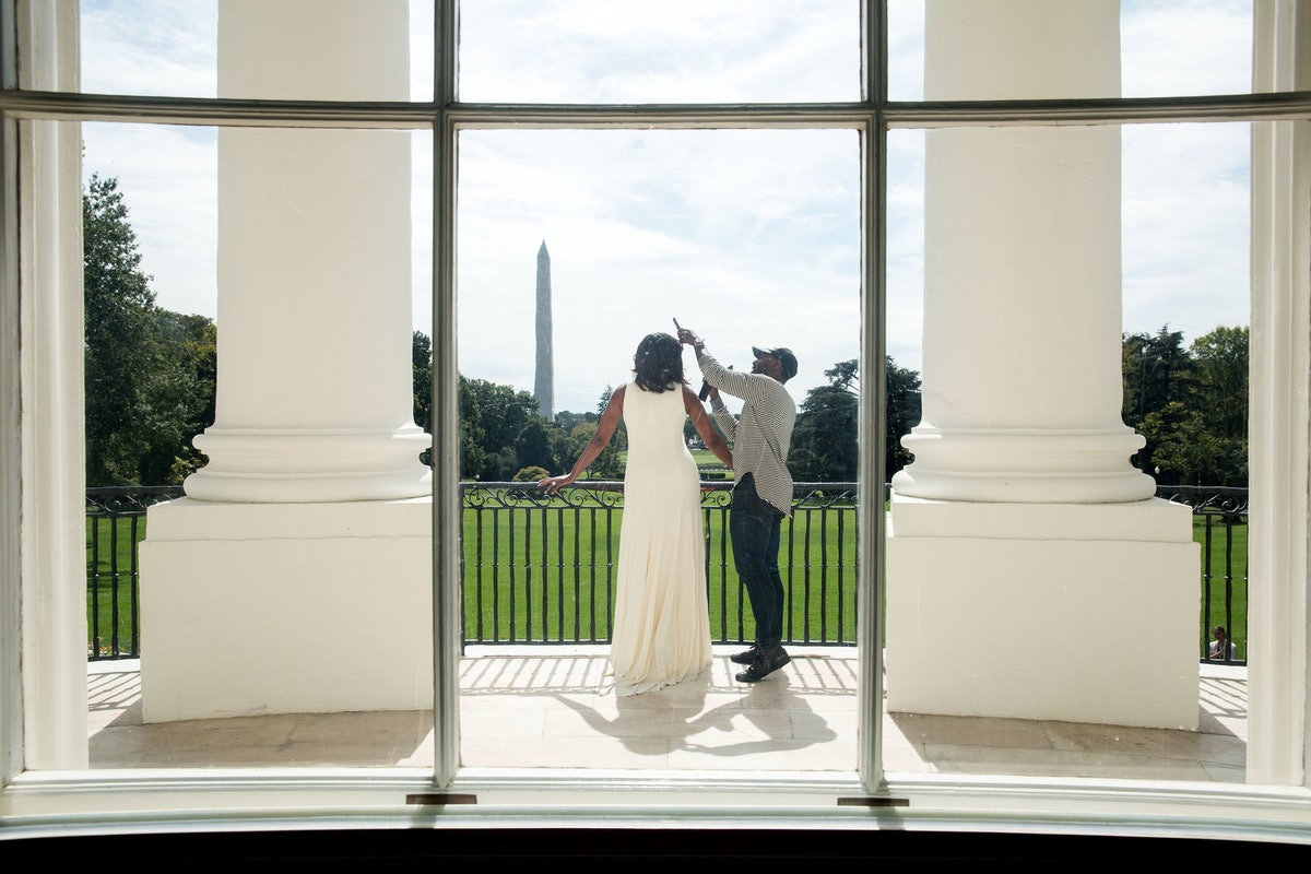Michelle Obama and Johnny Wright.jpg