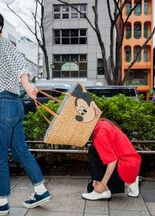 The Basket Bag series, a collaboration by Beams Boy and Disney.