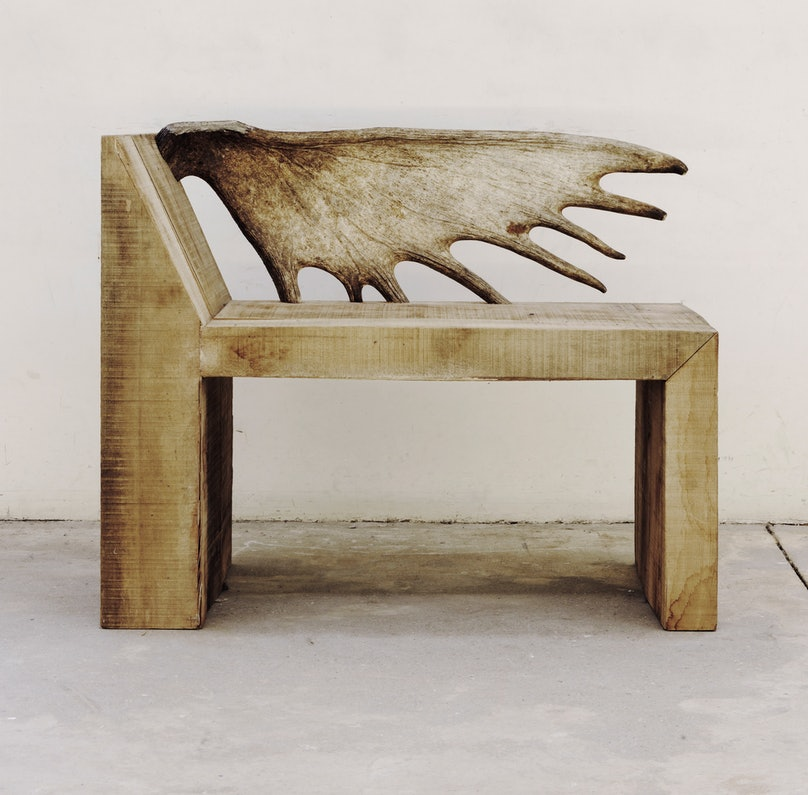 Rick Owens's Tomb Chair, 2014.