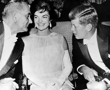 Jacqueline Kennedy at the Inauguration.
