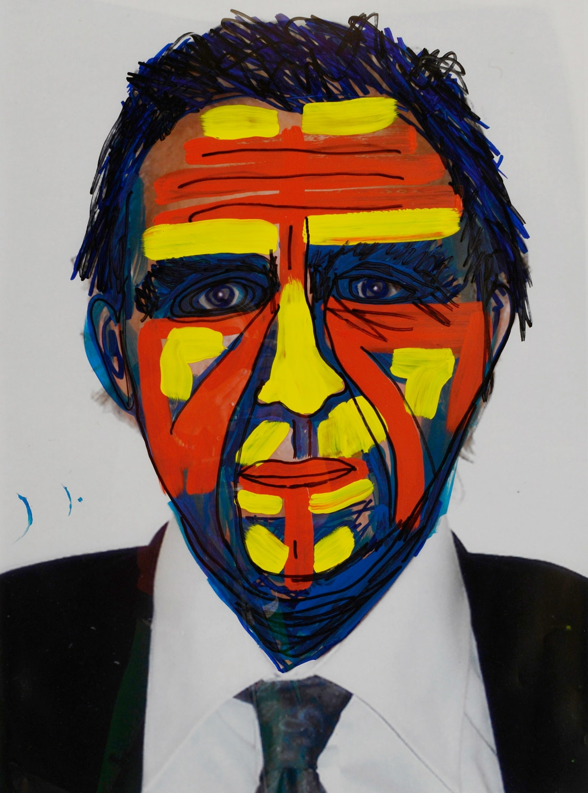 Jimmie Durham's Self-Portrait
