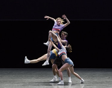 6_Gretchen Smith and New York City Ballet in Justin Peck's The Times Are Racing. Photo credit Paul K...