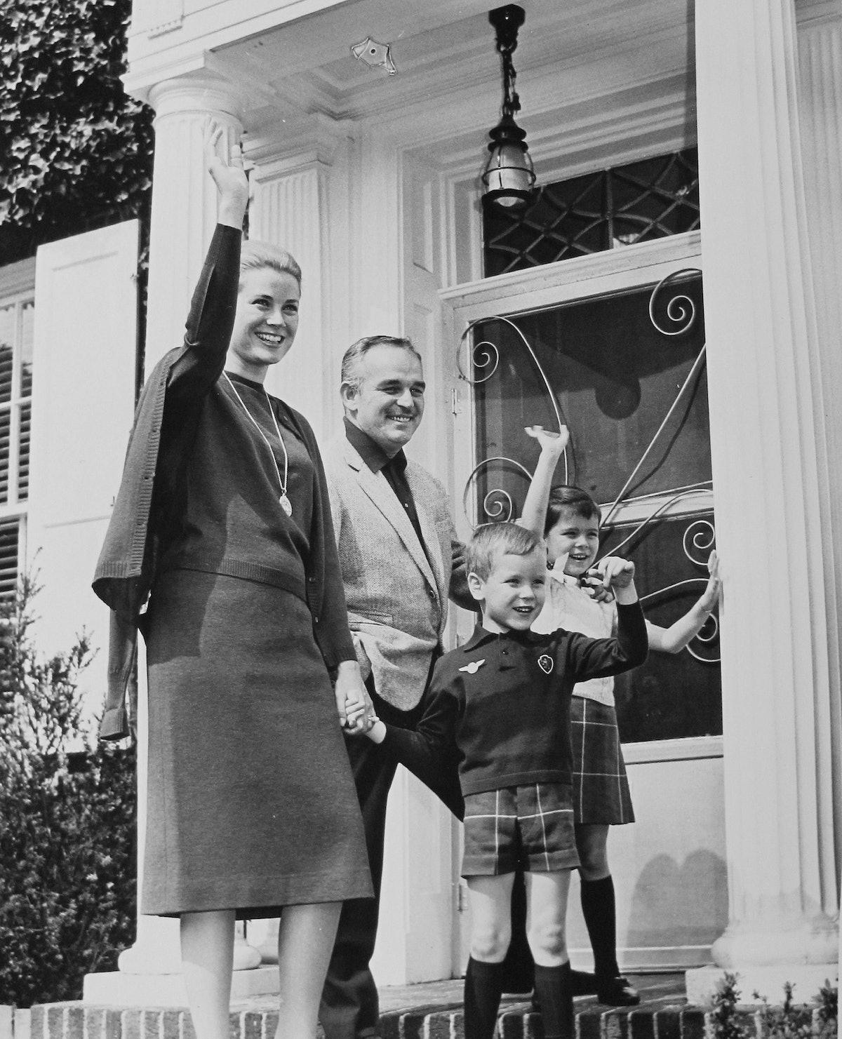 Grace K. Prince R. Caroline,Albert 1963 J.jpg