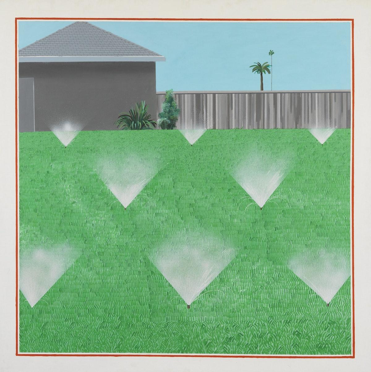 A Lawn Being Sprinkled.jpg