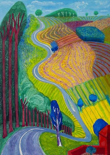 Going Up Garrowby Hill 2000.jpg