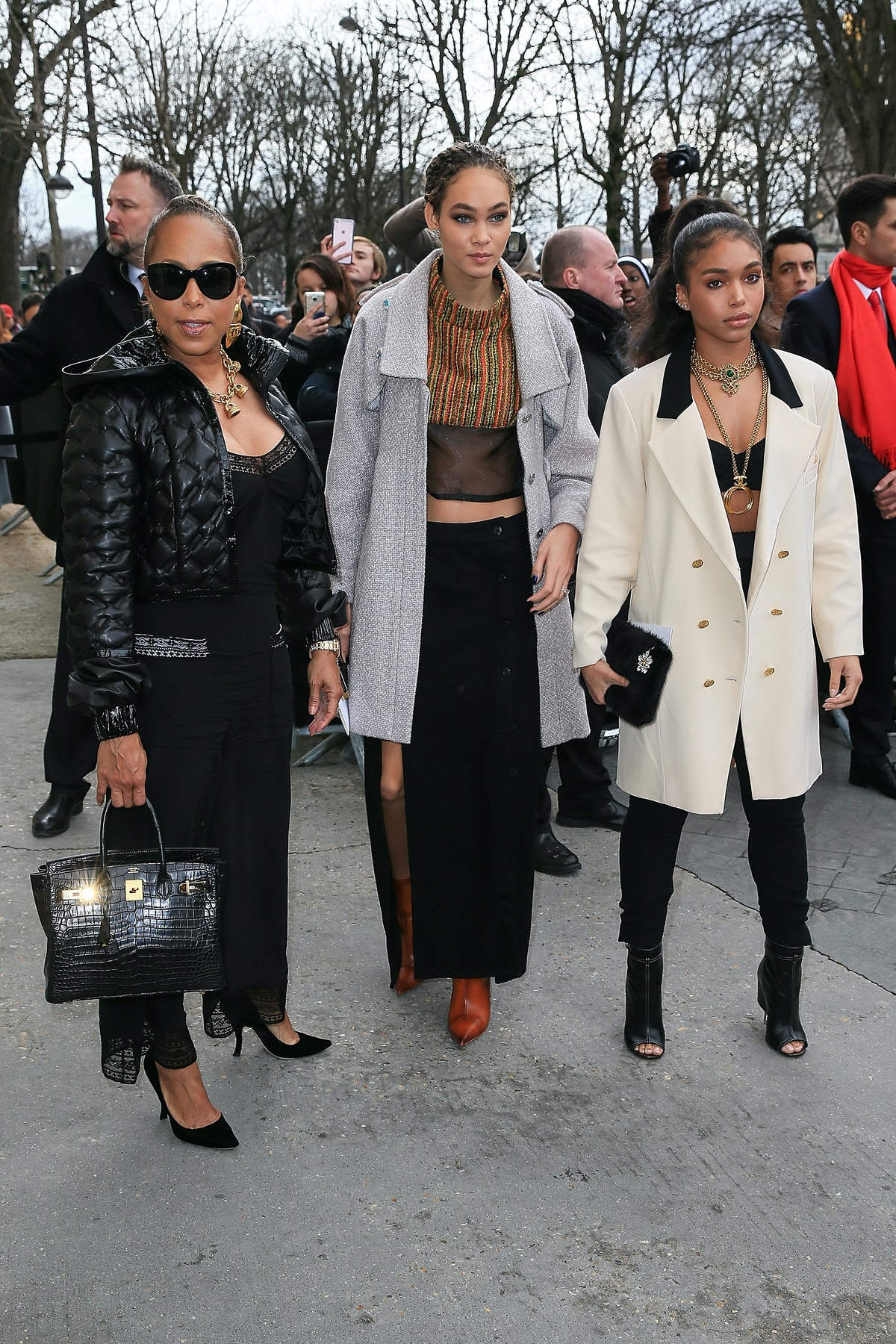 Celebrity Sighting : Day Eight - Paris Fashion Week Womenswear Fall/Winter 2017/2018