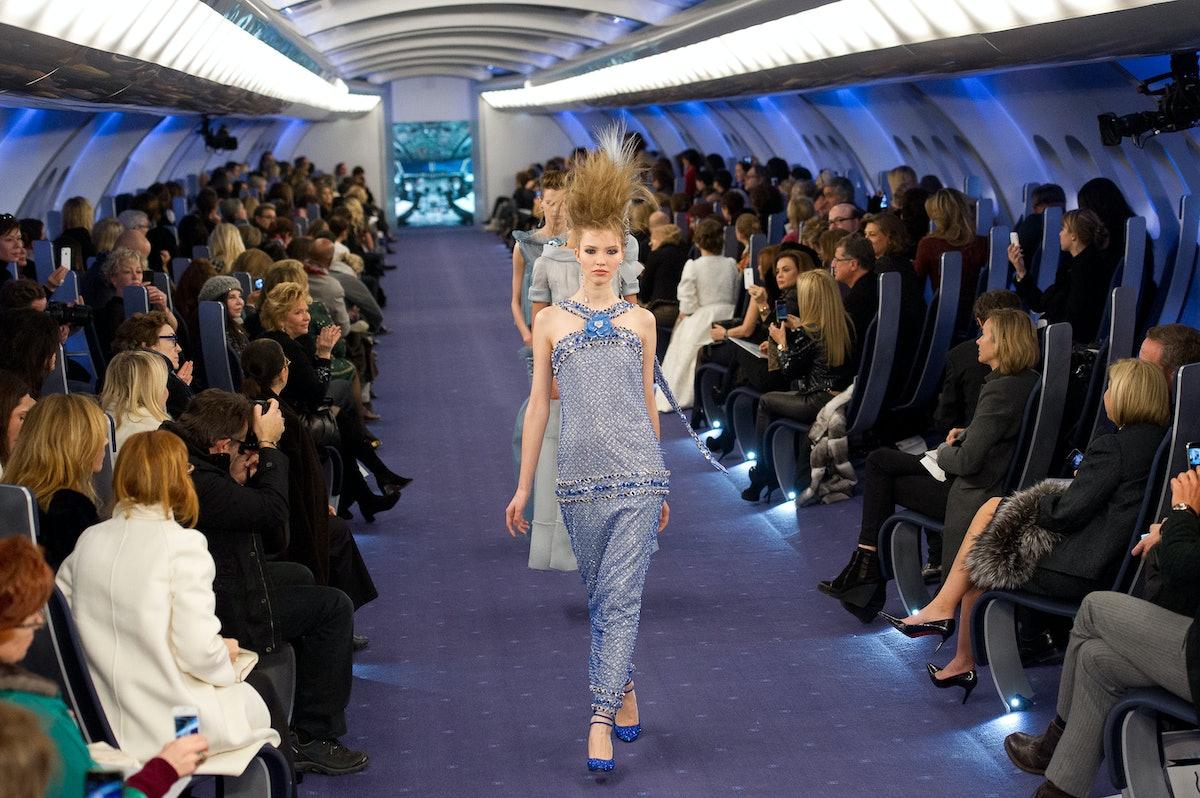 Chanel: Runway - Paris Fashion Week Haute Couture S/S 2012