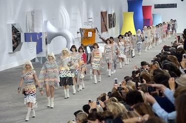 Chanel : Runway - Paris Fashion Week Womenswear  Spring/Summer 2014