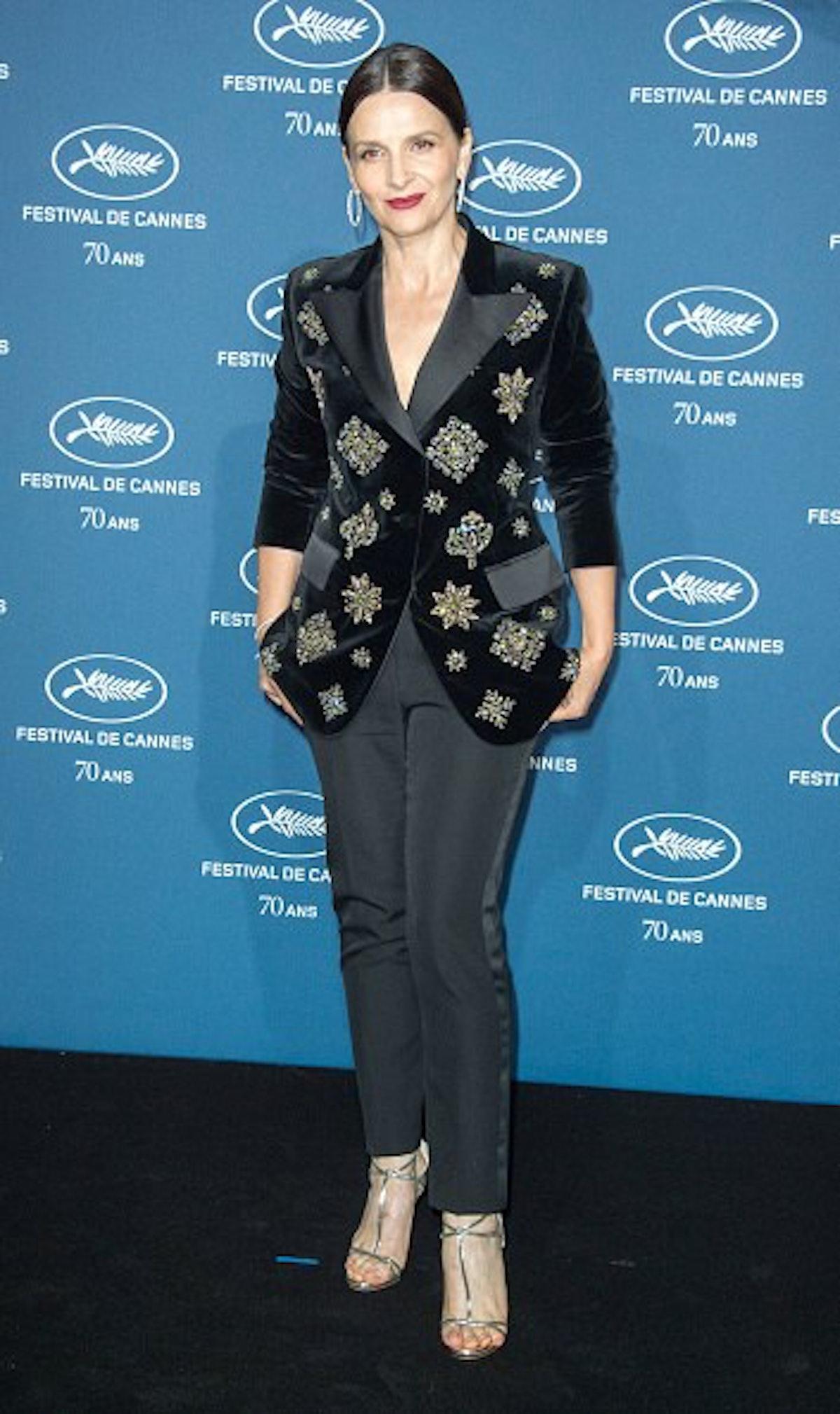 Cannes Film Festival : 70th Anniversary Party At Palais des Beaux Arts In Paris