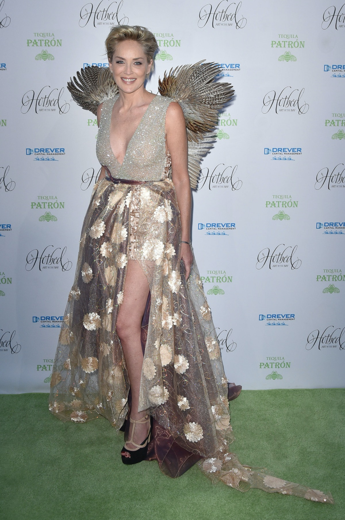 Sharon Stone And Joe Jonas Co-Host Fourth Annual Hotbed Gala Presented By The Drever Family Foundation