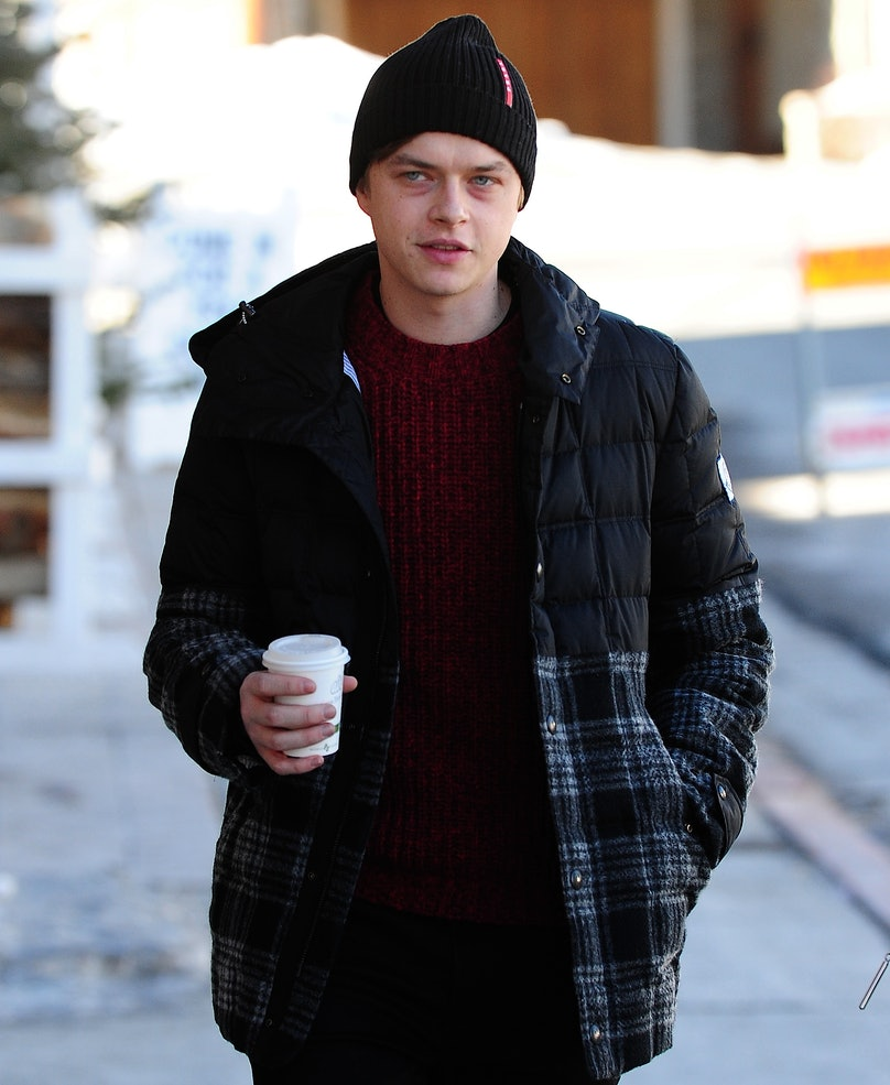 Celebrity Sightings In Park City - January 21, 2014