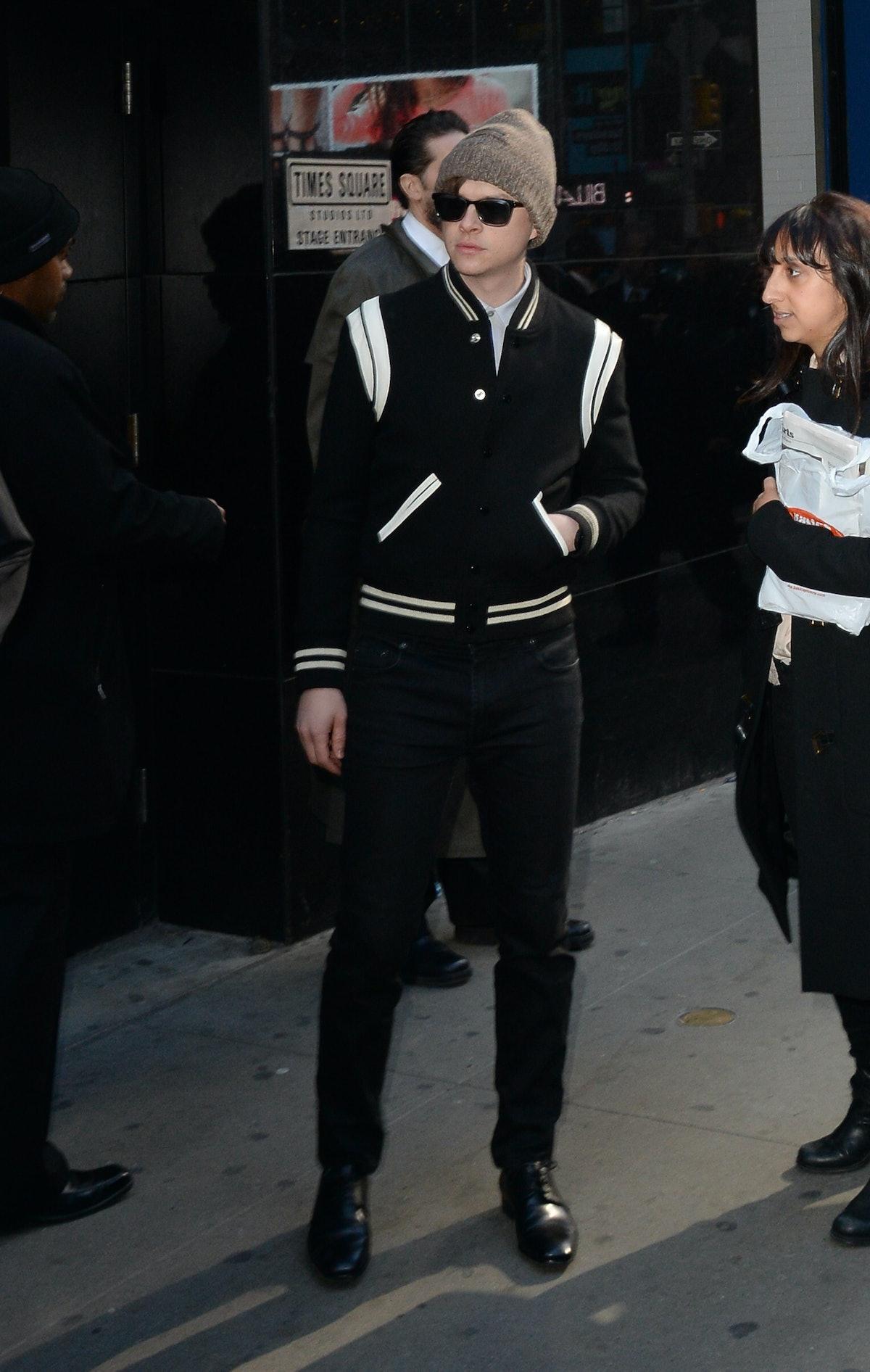Celebrity Sightings In New York City - April 24, 2014