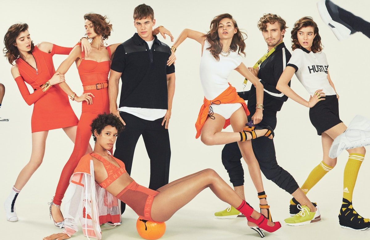 Let's Get Physical - Sportswear - April 2017