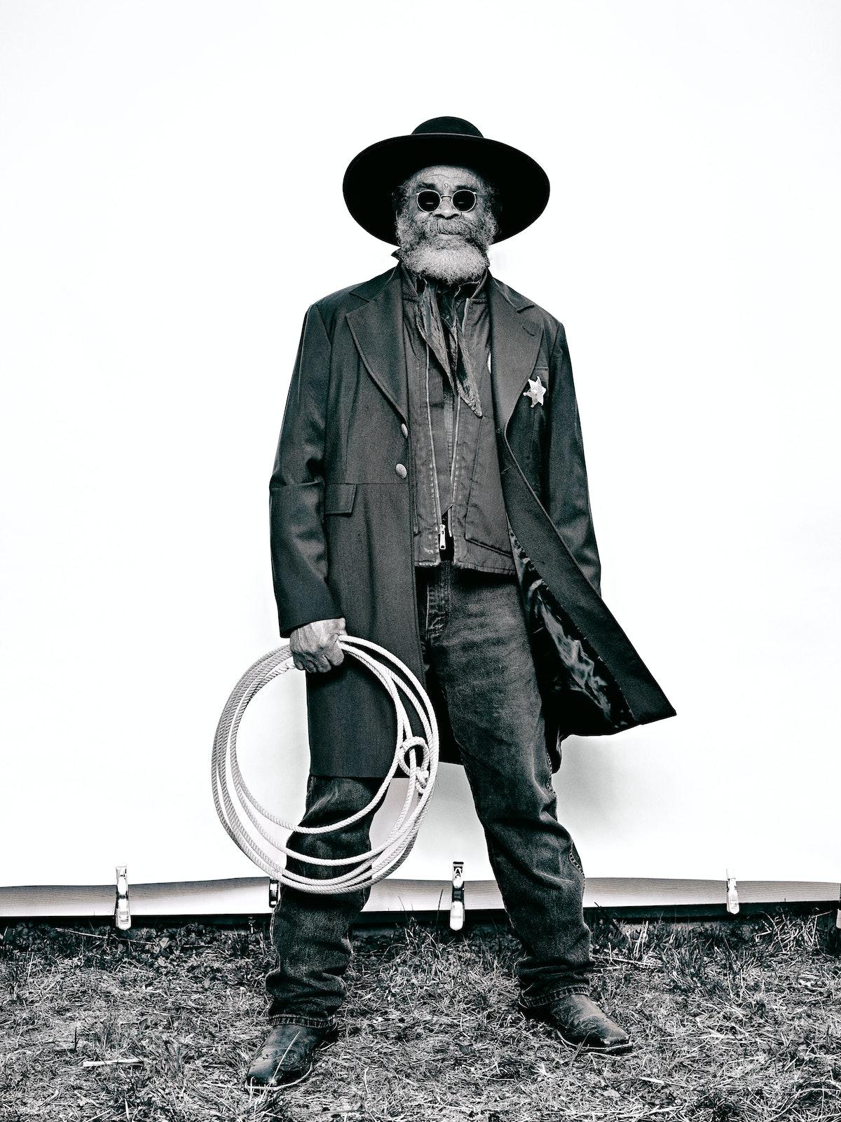 "Ellis ""Mountain Man"" Harris - The Federation of Black Cowboys"