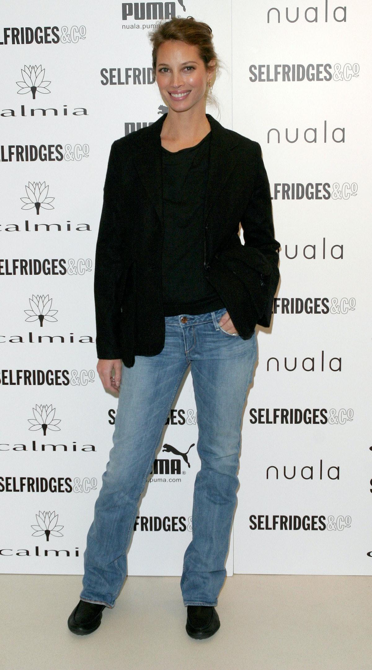 Christy Turlington Launches Her Spring 2005 Puma Nuala Range