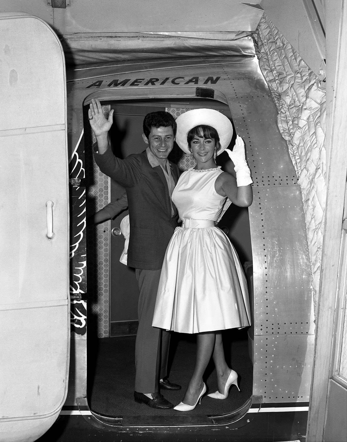 Checking Out...Elizabeth Taylor, looking beautiful as ever,
