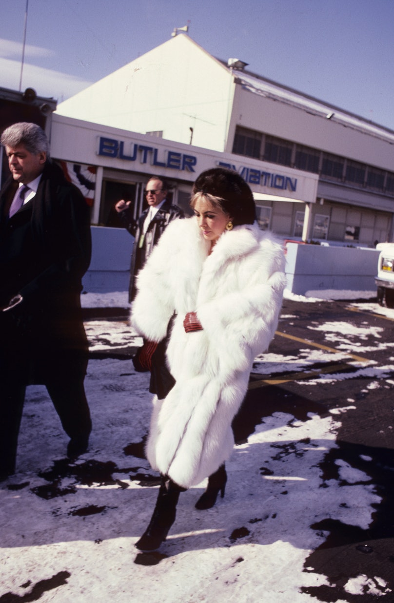 Elizabeth Taylor File Photo