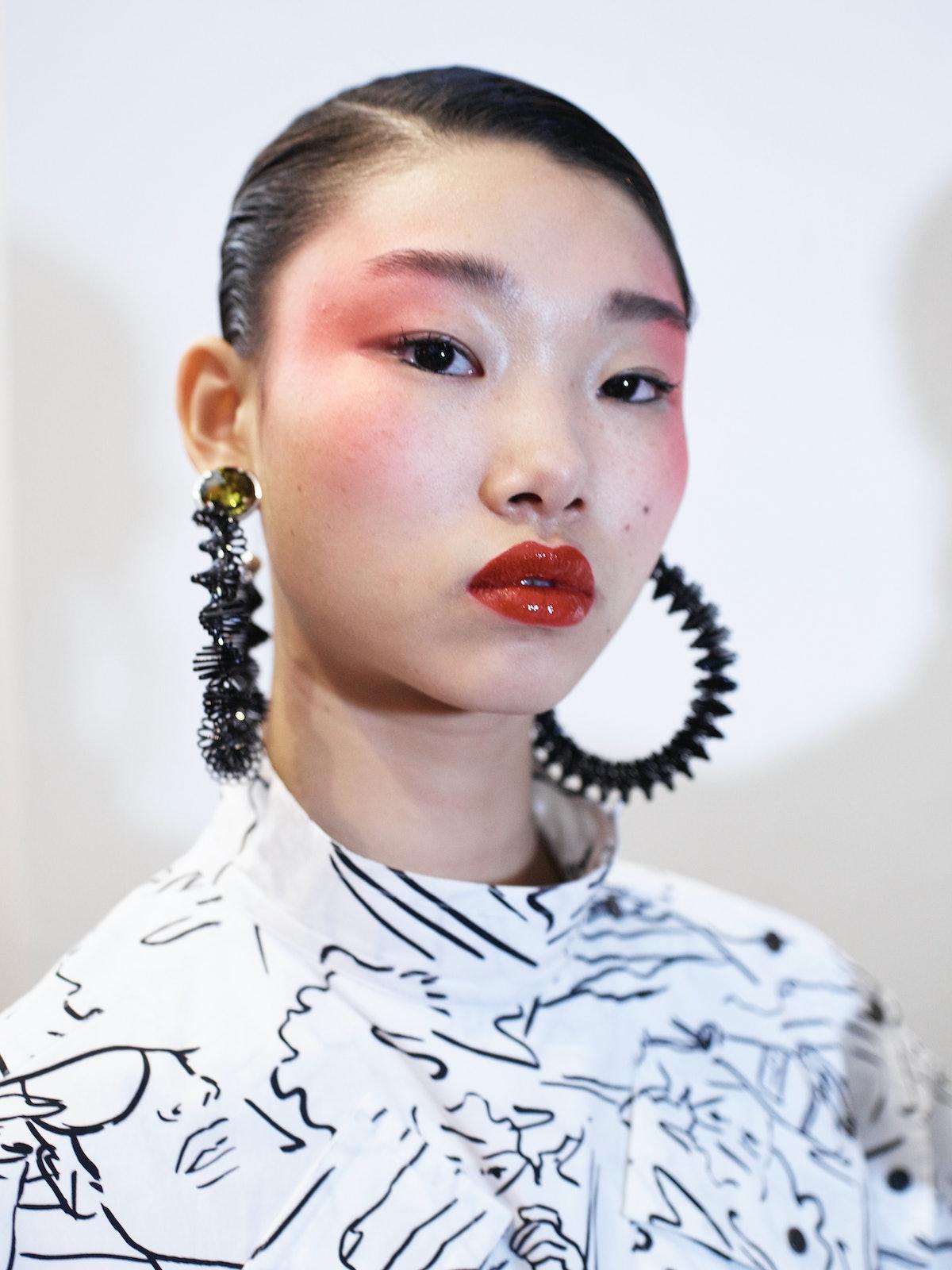 Kenzo : Backstage - Paris Fashion Week Womenswear Spring/Summer 2017