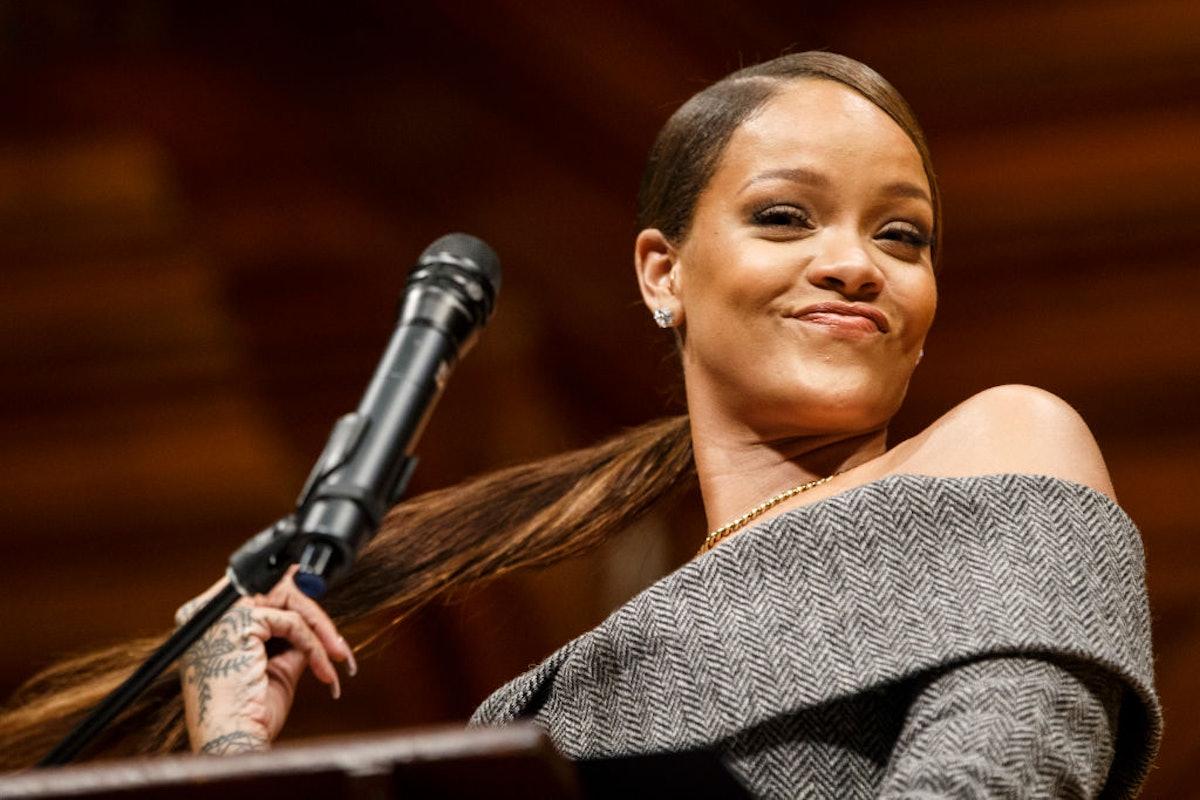 Rihanna Receives Harvard Humanitarian Of The Year Award