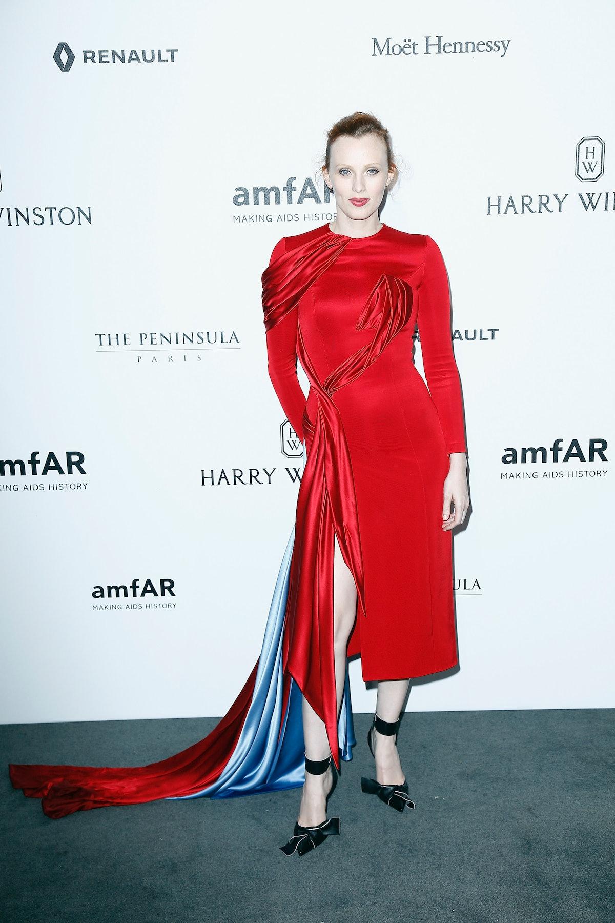 Amfar Paris Dinner - Stars Gather For Amfar During The Haute Couture Week - Red Carpet