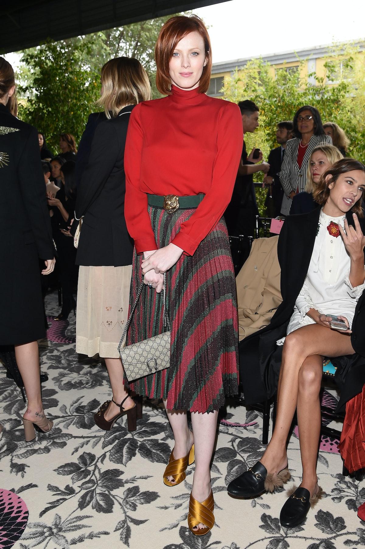 Gucci - Front Row - Milan Fashion Week  SS16