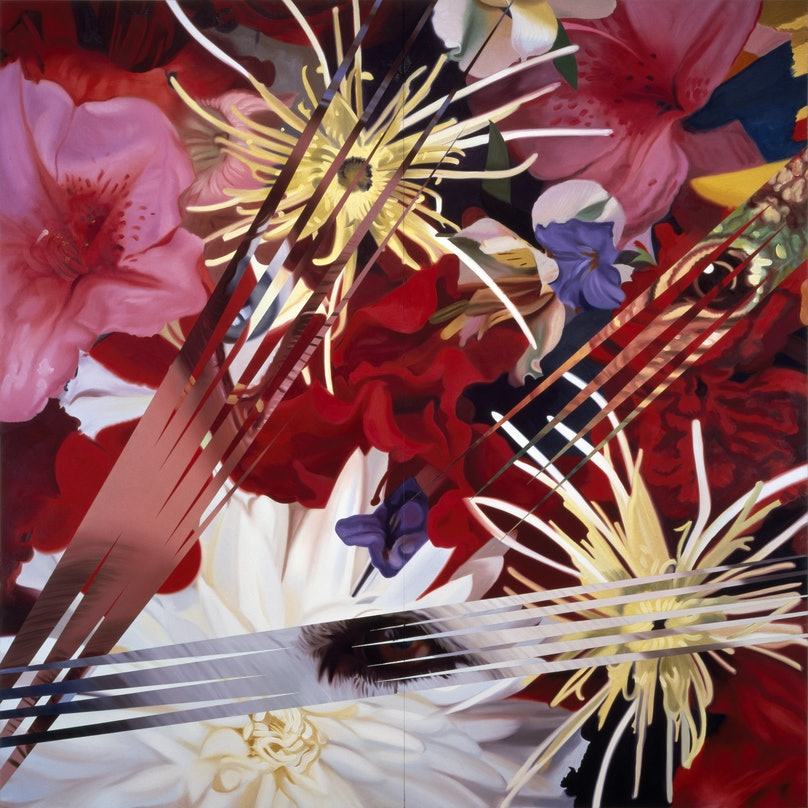 Rosenquist - Lady, Dog, Lizard.jpg