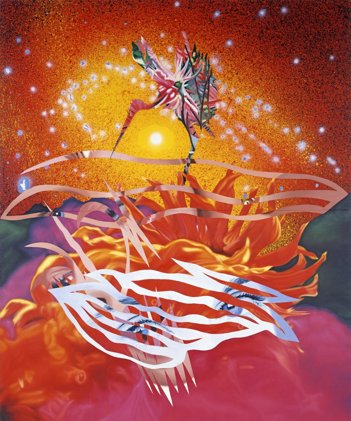 Rosenquist - The Bird of Paradise Approaches the Hot Water Planet.jpg